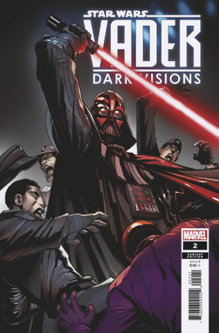 Star Wars: Vader - Dark Visions #2 (Sandoval Cover)