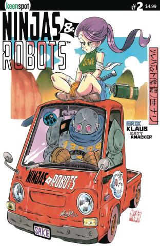 Ninjas and Robots #2 (Gochi Cover)