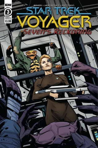 Star Trek: Voyager - Seven's Reckoning #3 (Hernandez Cover)