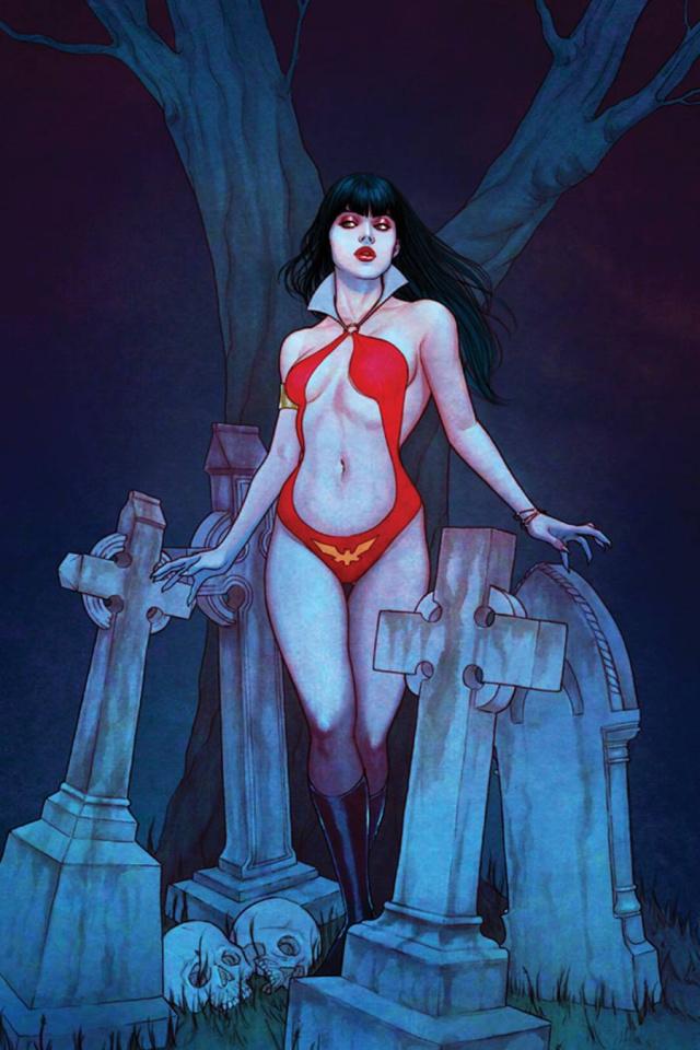 Vampirella #7 (Rare Frison Virgin Cover)