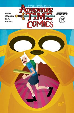 Adventure Time Comics #19 (Subscription Veregge Cover)