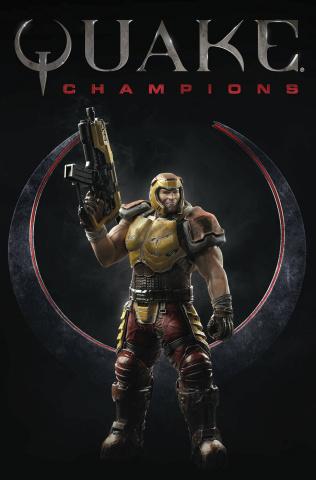 Quake: Champions #1 (Videogame Cover)