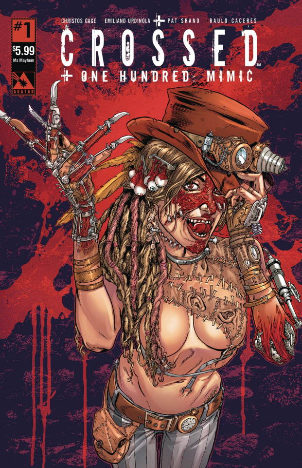 Crossed + One Hundred: Mimic #1 (Ms. Mayhem Cover)