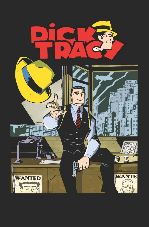 Dick Tracy Forever #1 (Oeming Cover)