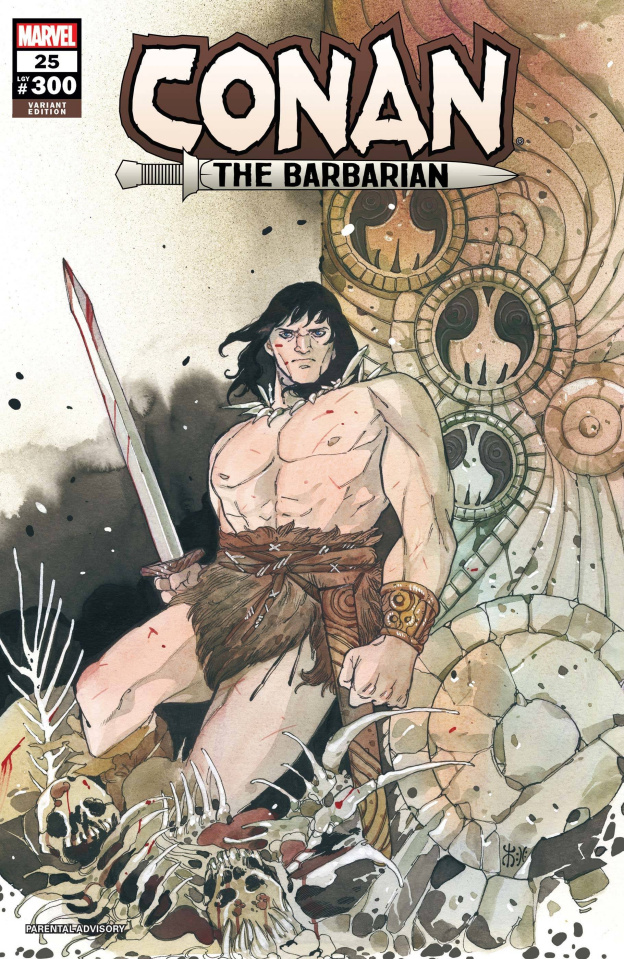 Conan the Barbarian #25 (Momoko Cover)