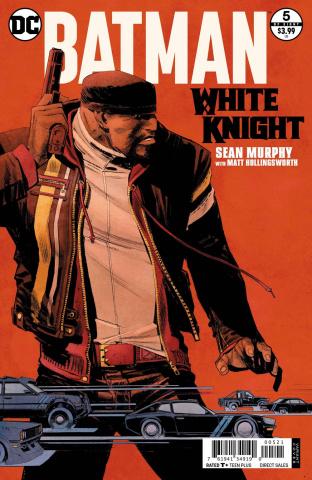 Batman: White Knight #5 (Variant Cover)