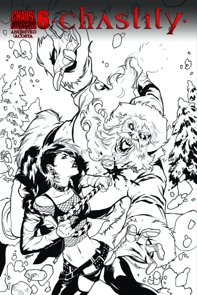 Chastity #6 (10 Copy Lupacchino B&W Cover)