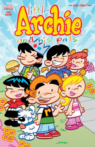 Little Archie and His Pals (Art Baltazar Cover)