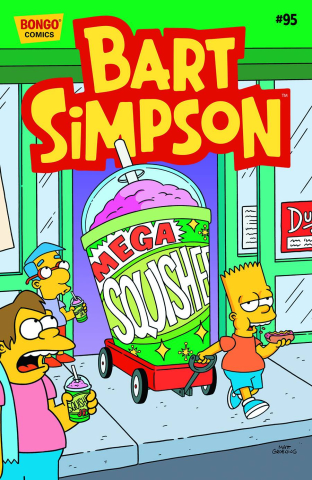 Bart Simpson Comics #95