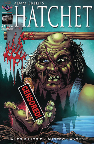 Hatchet #1 (Rated MR For Horror Cover)