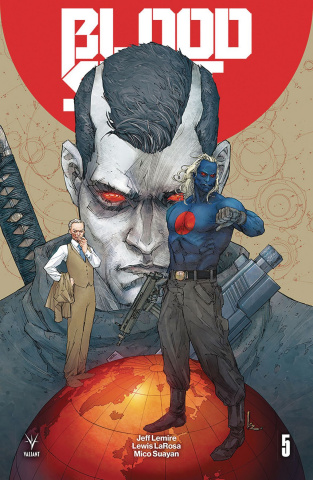 Bloodshot: Salvation #5 (Rocafort Cover)