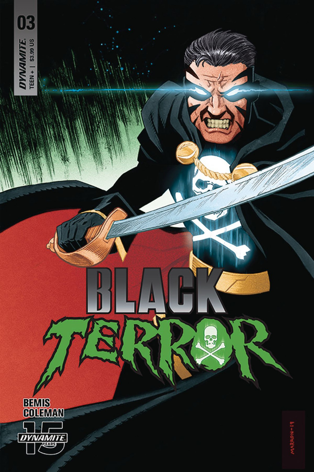 Black Terror #3 (Marron Cover)