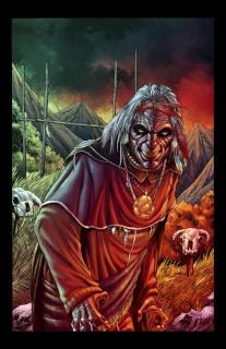 Grimm Fairy Tales: Dark Shaman #1 (Mychaels Cover)