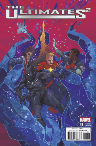The Ultimates 2 #1 (Ward Cover)