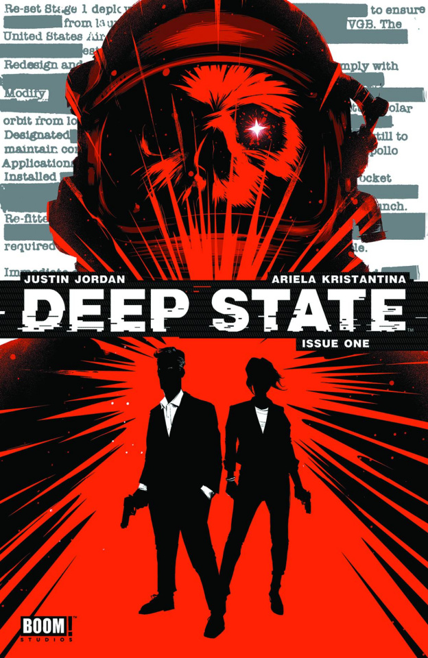 Deep State #1 (2nd Printing)