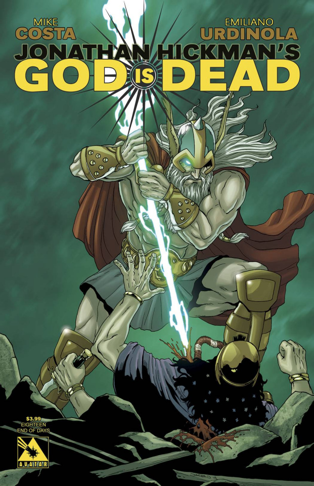 God Is Dead #18 (End of Days Cover)