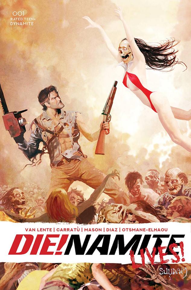 DIE!namite Lives! #1 (Suydam Cover)