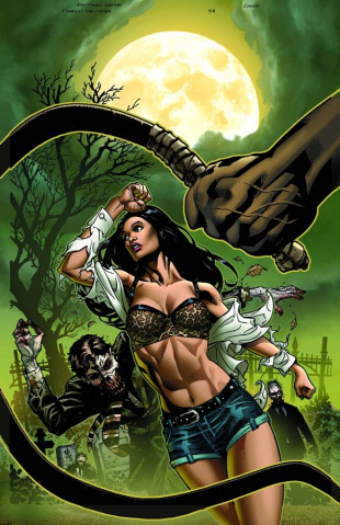 Grimm Fairy Tales: Zombies - Cursed #3 (Johnson Cover)
