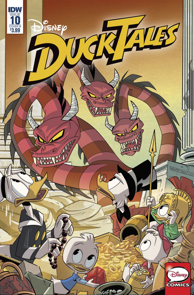 DuckTales #10 (Ghiglione Cover)