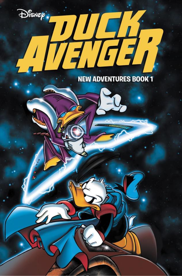 Duck Avenger: New Adventures Book 1