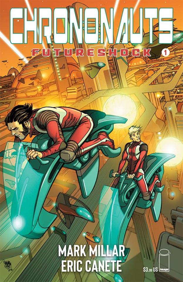 Chrononauts: Futureshock #1 (Ferry Cover)