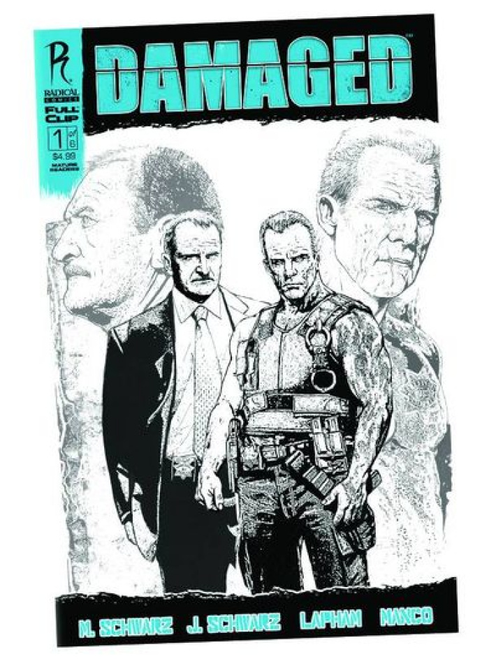 Damaged #1 (Manco Cover)