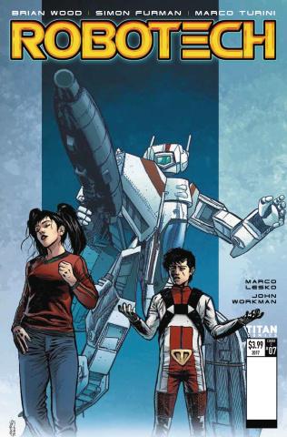 Robotech #7 (Turini Cover)