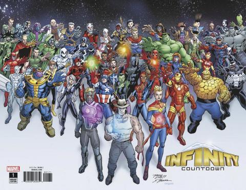 Infinity Countdown #1 (Lim Wraparound Cover)