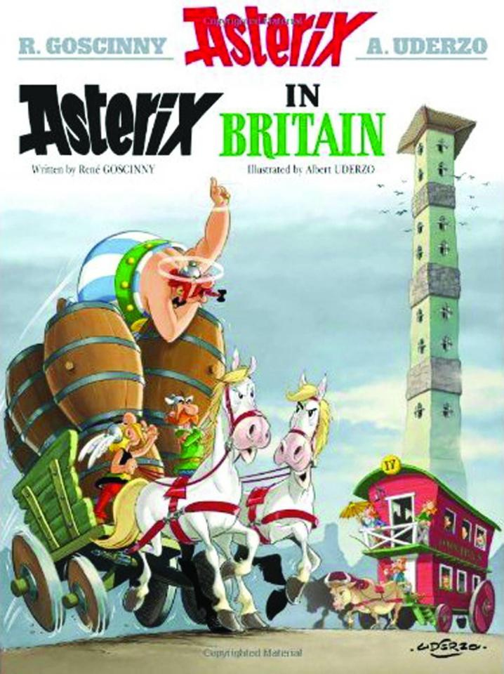 Asterix Vol. 8: Asterix in Britain