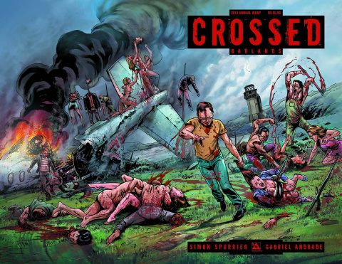 Crossed Annual 2013 (Wrap Cover)