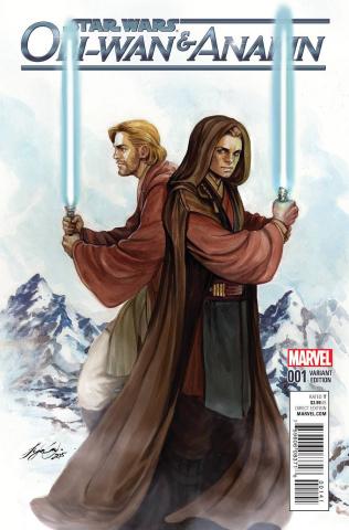 Obi-Wan & Anakin #1 (Oum Cover)