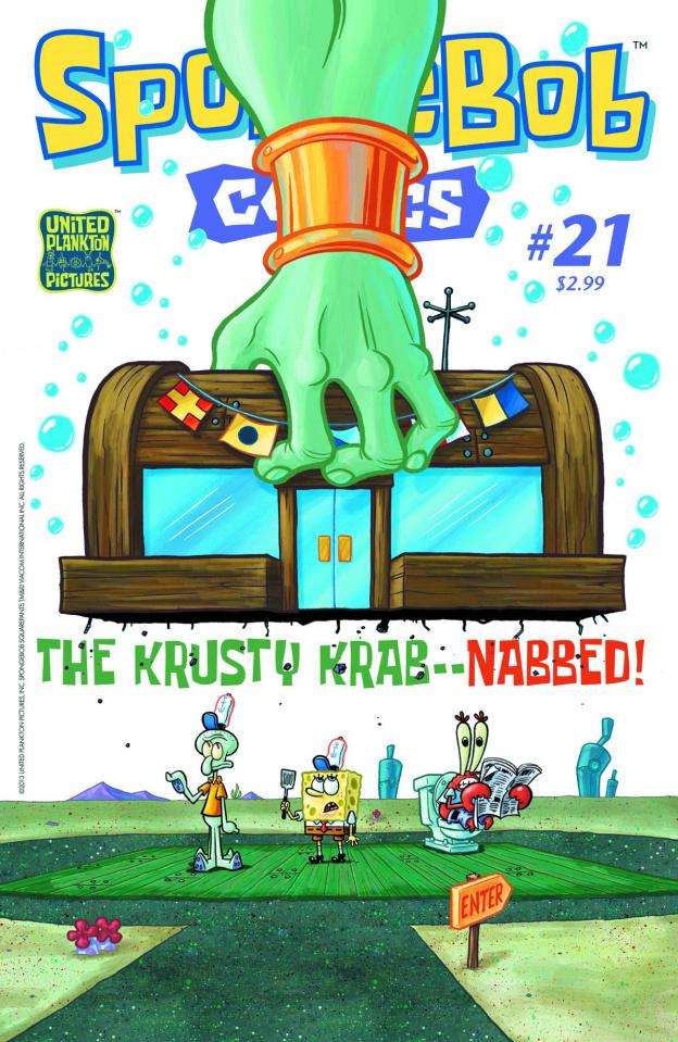 Spongebob Comics #21