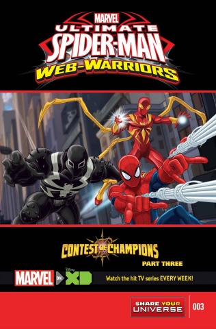 Marvel Universe: Ultimate Spider-Man - The Contest of Champions #3