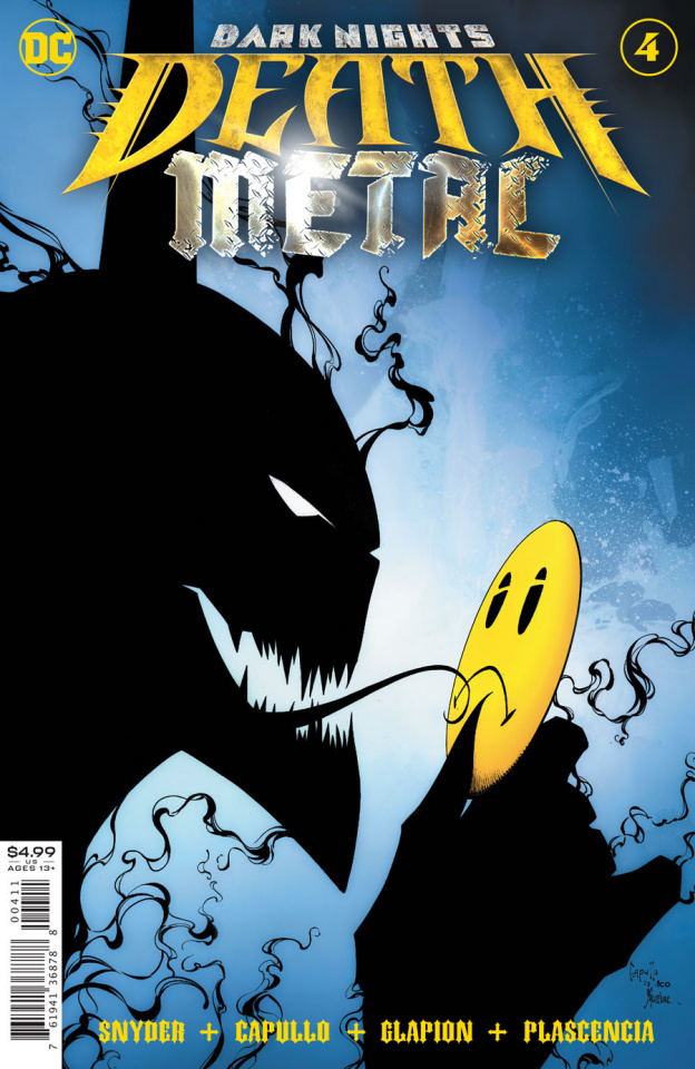 Dark Nights: Death Metal #4 (Greg Capullo Embossed Foil Cover)