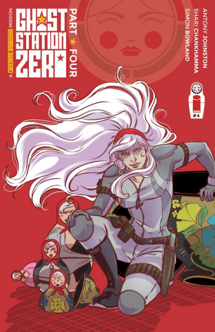 Ghost Station Zero #4 (Vieceli Cover)