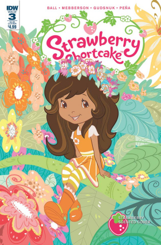 Strawberry Shortcake #3 (Scented Cover)