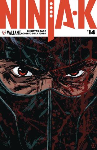 Ninja-K #14 (Kano Cover)