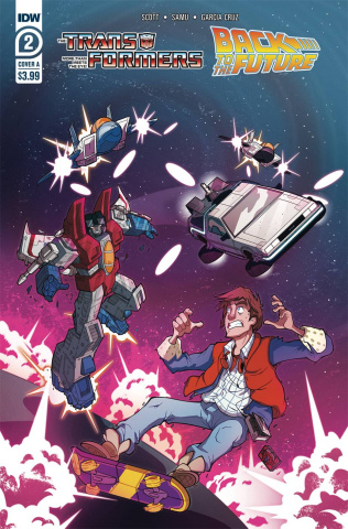 The Transformers / Back to the Future #2 (Phil Murphy Cover)