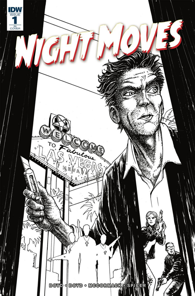 Night Moves #1 (10 Copy Burnham Cover)