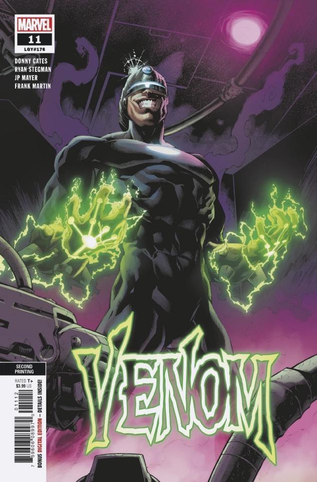 Venom #11 (Stegman 2nd Printing)