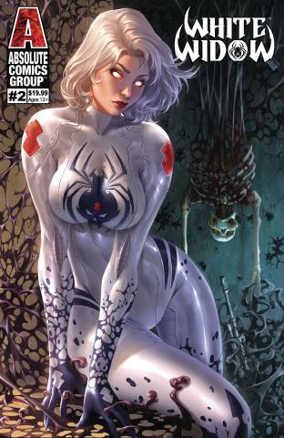 White Widow #2 (Debalfo Lenticular Cover)
