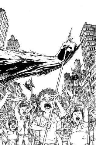 Batman Incorporated #7 (Black & White Cover)