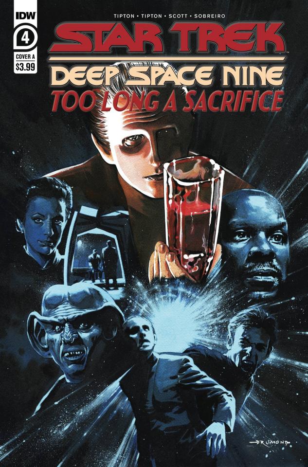 Star Trek: Deep Space Nine - Too Long A Sacrifice #4 (Drumond Cover)