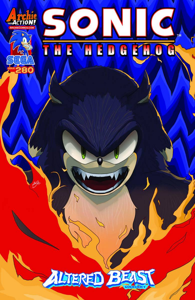 Sonic the Hedgehog #280 (Erik Ly Cover)