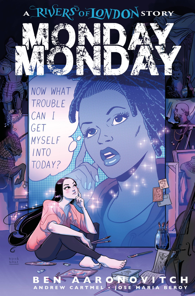 Rivers of London: Monday, Monday #4 (Buisian Cover)