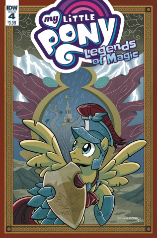 My Little Pony: Legends of Magic #4 (Hickey Cover)