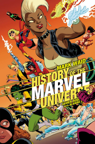 History of the Marvel Universe (Rodriguez Cover)