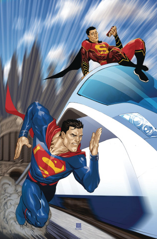 New Super-Man #9 (Variant Cover)