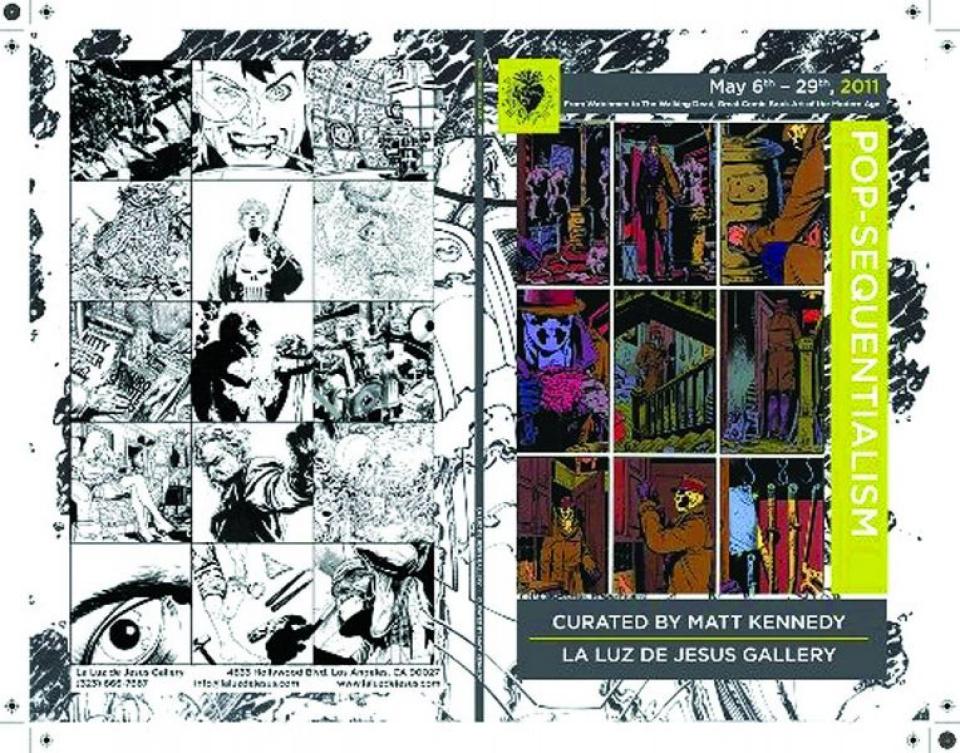 Pop-Sequentialism: Great Comic Book Art