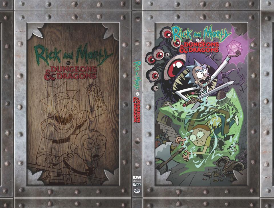 Rick and Morty vs. Dungeons & Dragons Box Set